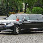 プーチン大統領専用車ベンツリムジンがすごい!内装や価格を調査!