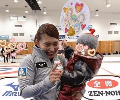 本橋麻里と子供