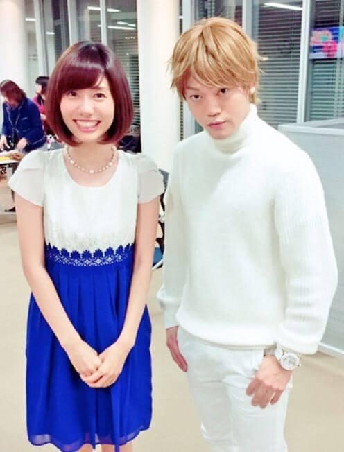 おばたのお兄さんと山崎夕貴アナ