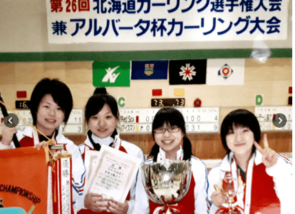 中学時代の鈴木夕湖選手の画像