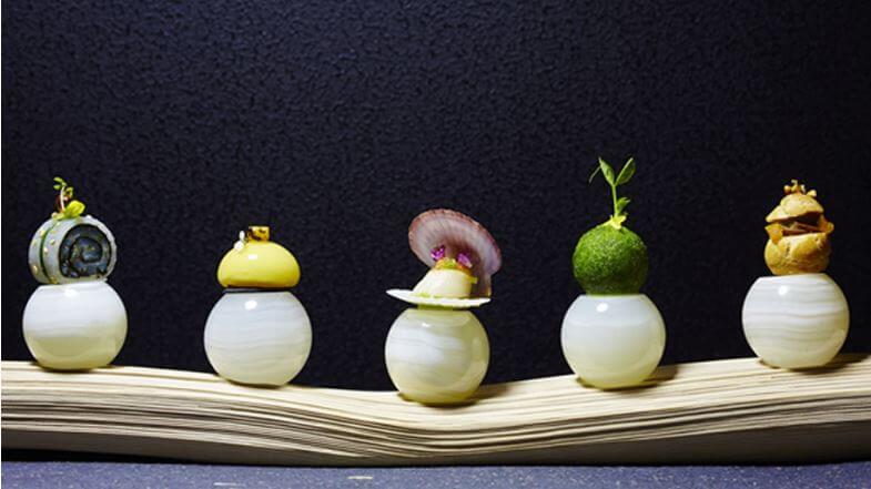 浜田統之さんの料理
