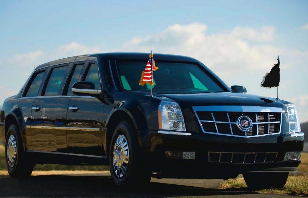 アメリカ大統領専用車キャデラック(ビースト)