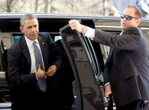 アメリカ大統領専用車キャデラック