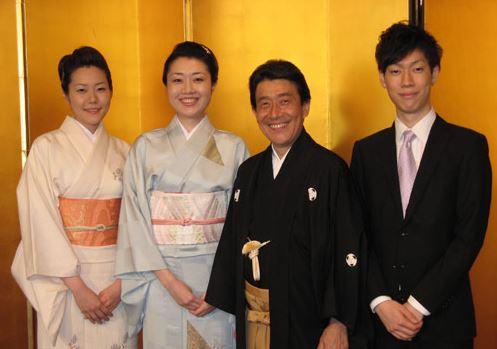 守田菜生さんの家族