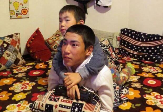 ちびっ子球児 東島カイジと兄