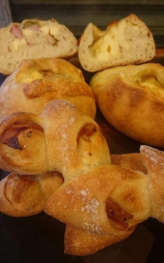 ベーカリー兎座Lepusのパン