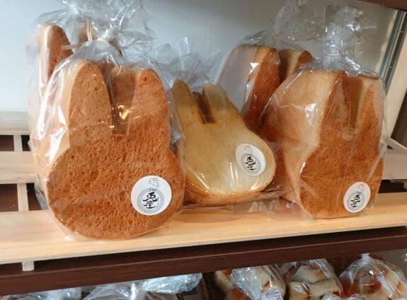 ウサギの食パン