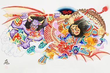 北村麻子のねぶた下絵作品