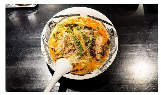 カラシビ味噌らー麺 鬼金棒のラーメン