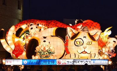 ねぶた師 北村麻子の作品