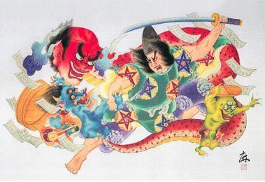 ねぶた師 北村麻子のねぶた下絵作品