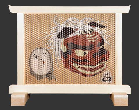 塩澤正信さんの組子細工作品
