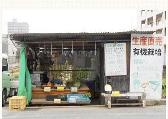 山田農園とりたて野菜販売場所