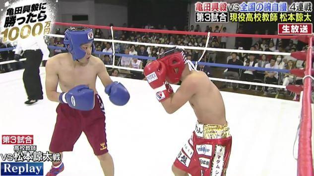亀田興毅戦