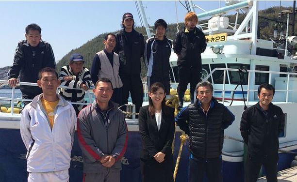 萩大島船団丸のメンバー