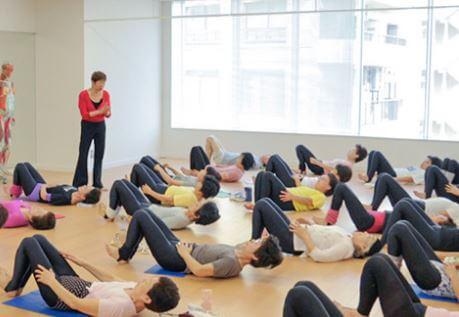 きくち体操教室の風景