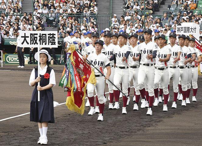 大阪桐蔭高校選手