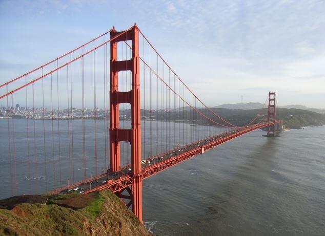 サンフランシスコのゴールデン・ゲート・ブリッジ
